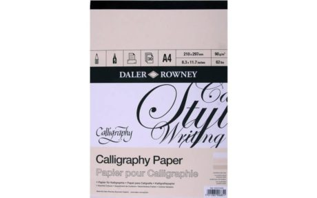 Daler Rowney Calligraphy Paper A4