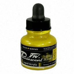 Pearlescent Acrylic 29.5ml Hot Cool Yellow 1