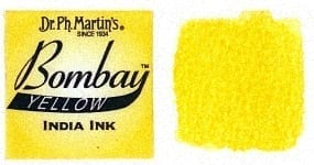 Bombay India Ink Yellow 30ml