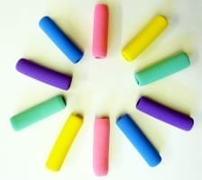 Soft foam pen pencil grips