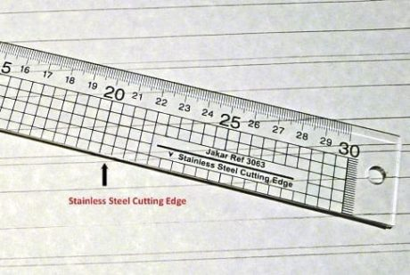Jakar Acrylic Cutting Ruler 30cm 2