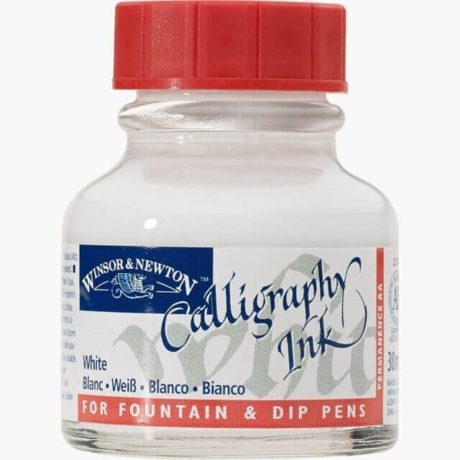 Winsor Newton Calligraphy Ink White
