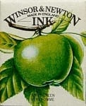 Winsor & Newton Drawing Ink Apple Green 14ml 1