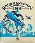 Winsor & Newton Drawing Ink Blue 14ml 1