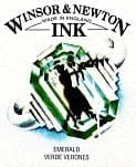 Winsor & Newton Drawing Ink Emerald 14ml 1