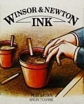 Winsor & Newton Drawing Ink Peat Brown 14ml 1