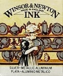 Winsor & Newton Drawing Ink Silver 30ml 1