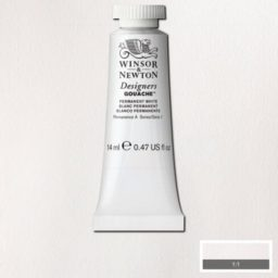Winsor Newton Gouache Permanent White 14ml