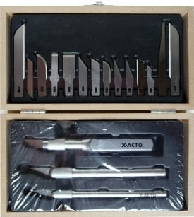 X-Acto Standard Knife Set 1