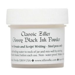 Ziller Ink Glossy Black Ink Powder