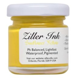 ziller ink sunflower yellow